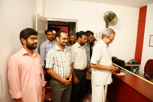 Office inaugurated by Dr.N.P.Hafiz Mohamad (Sociologist)