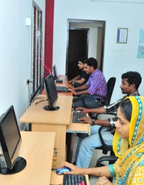 Our team @ work
